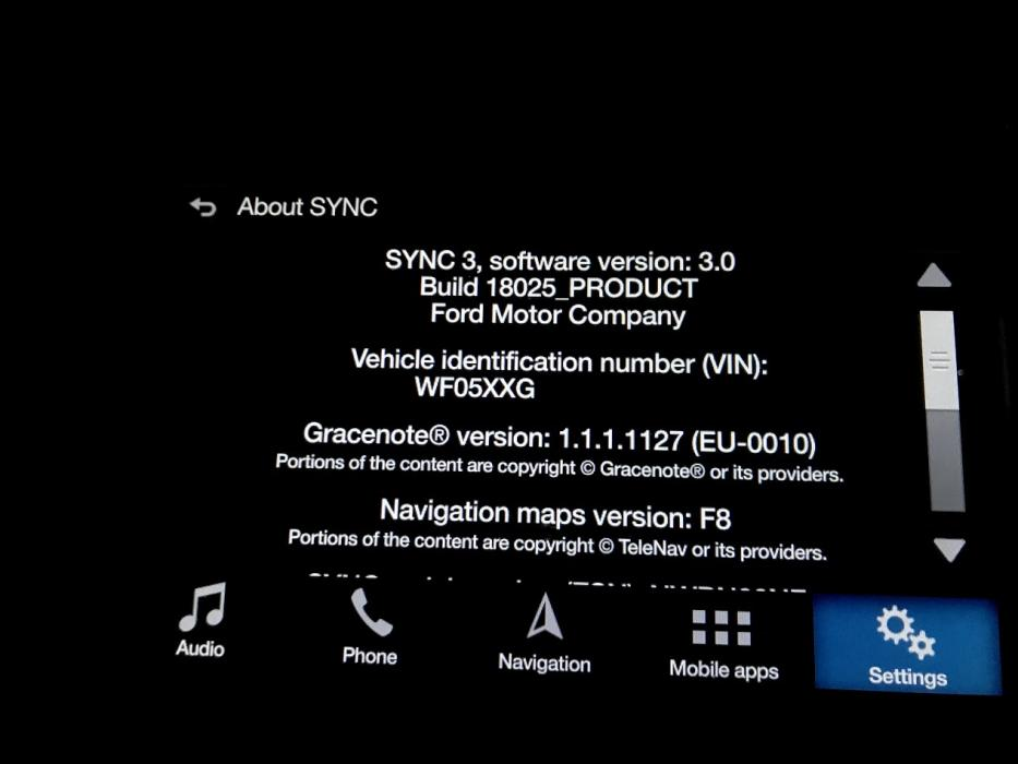 Syncmyride Com Register Ford >> Sync3 F8 Map Update Mk3 Focus Rs Club
