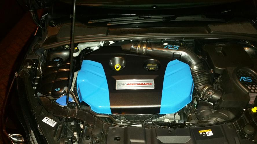 Colour coded engine cover mk3 focus rs club engine cover painted mg and nb expansion tank cover hydro dipped in carbon wrap fuse box and battery cover next sciox Image collections