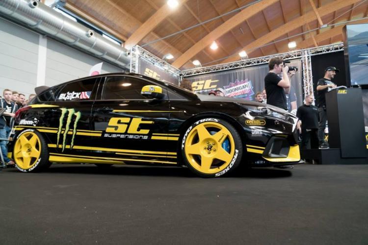 ST Suspension on Focus RS