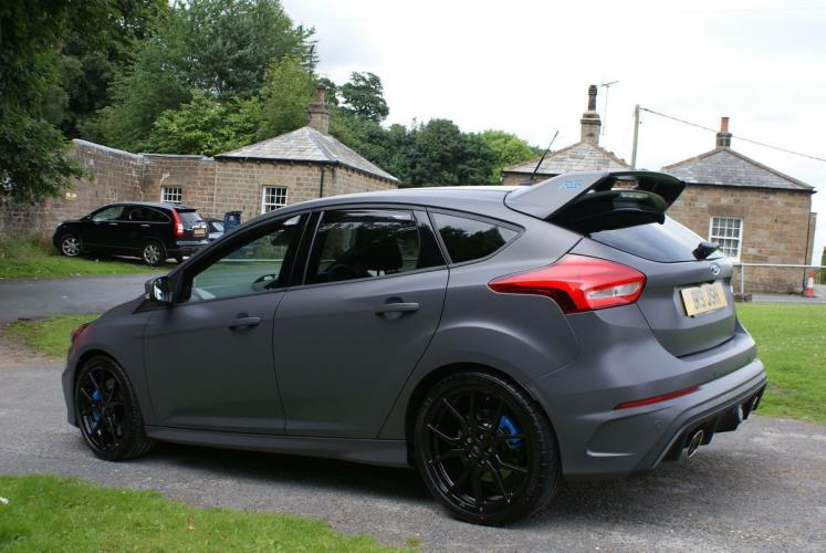 Matt grey wrap mk3 focus rs club matt grey wrap wrap carried out by blueprint nottingham malvernweather Choice Image