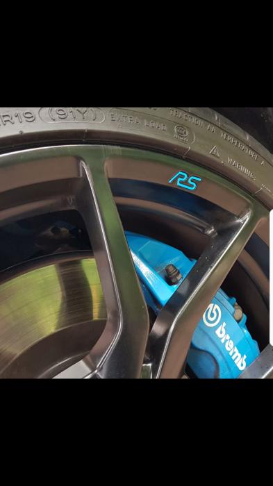 Rs Gel Wheel Badges Mk3 Focus Rs Club